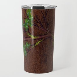 Western juniper tree portrait Travel Mug
