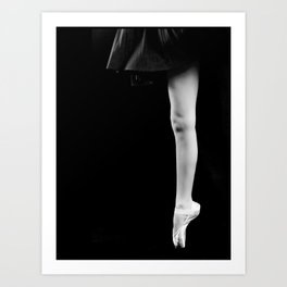 Pointe Art Print