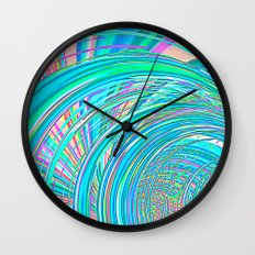 Re-Created  Hurricane 7 by Robert S. Lee Wall Clock