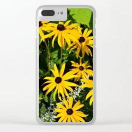 Photo 29 Rudbeckia Clear iPhone Case