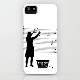 making more music iPhone Case