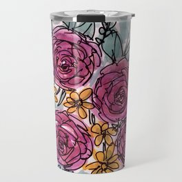 Spring Blooms Travel Mug