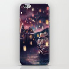 Lights for the Lost Princess iPhone & iPod Skin