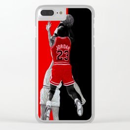 MJ 23 Shoot Clear iPhone Case