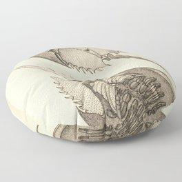 Horseshoe Crabs Floor Pillow