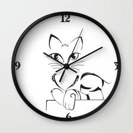 Goober Abstracted Wall Clock