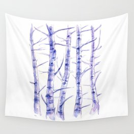 Birches I Wall Tapestry
