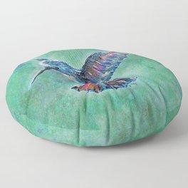 Hummingbird Floor Pillow
