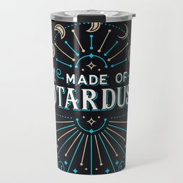 Made of Stardust – Blue & Black Palette Travel Mug