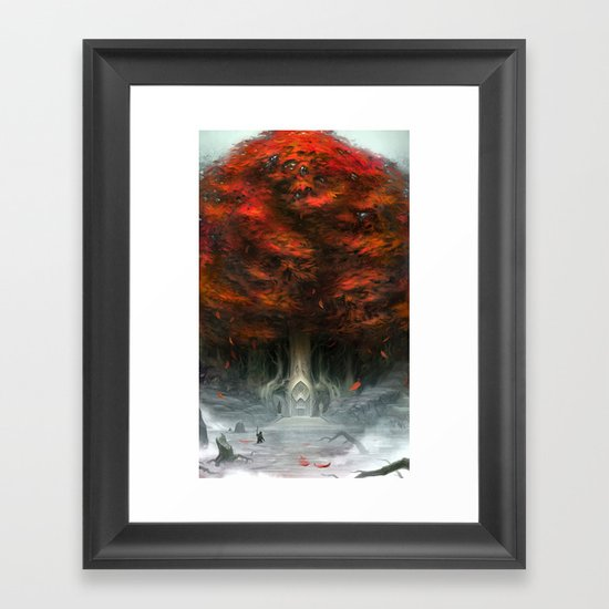Tree of Duality Framed Art Print