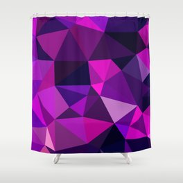 Pink Movement Shower Curtain