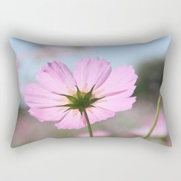 Thoughts of Spring Flowers Rectangular Pillow