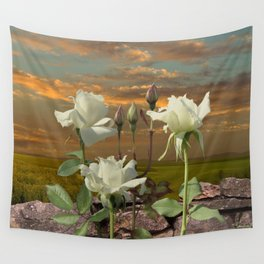 Flower of Light Wall Tapestry