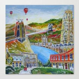 Bristol Waters Canvas Print