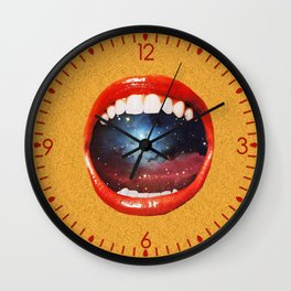 Taste Bud Regrowth Wall Clock
