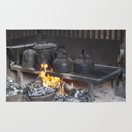 Camp oven Rug