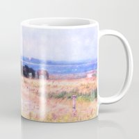 horses Mugs featuring Horses  by Truly Juel