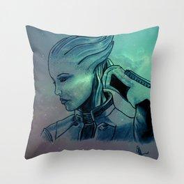 Shadowbroker Throw Pillow