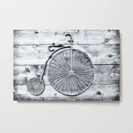 Old Fashioned Bike Metal Print