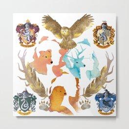 the golden trio Metal Print
