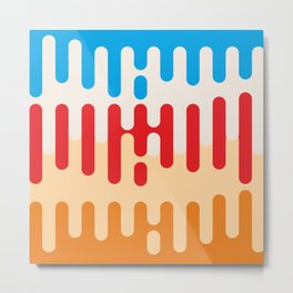 Paint dripping background #society6 #decor #buyart #artprint Metal Print