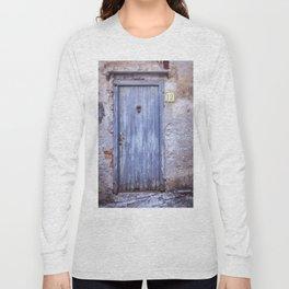 Old Blue Door Long Sleeve T-shirt