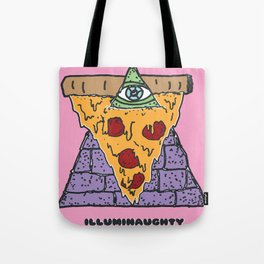 Illuminaughty Tote Bag