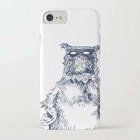 eddie vedder iPhone & iPod Cases featuring Eddie Monster by Anna Koleszko