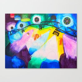 The Hollow Decks @ Bear's- 8 July, 2017 Canvas Print
