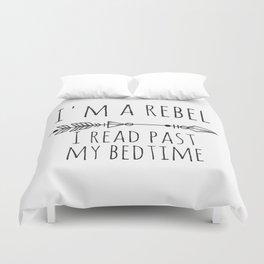 I Read Past My Bedtime Duvet Cover