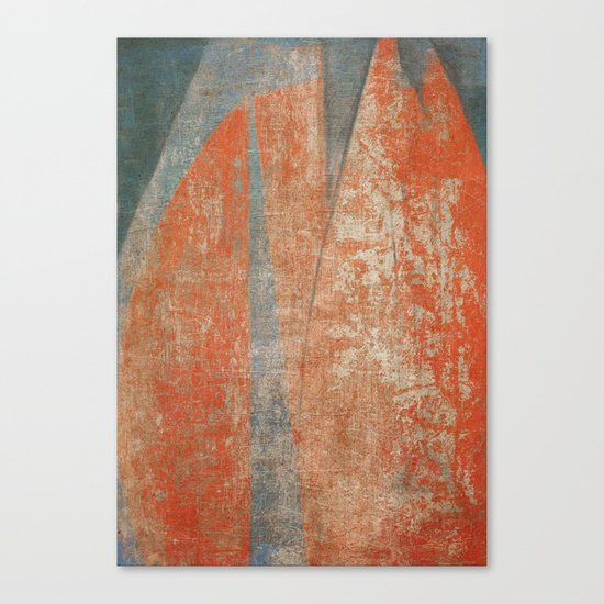 Worn Sails Canvas Print