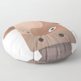 The Cow of Videos Manguis Floor Pillow