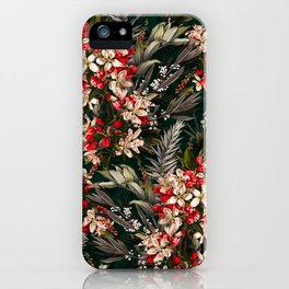 Midnight Garden XI iPhone Case