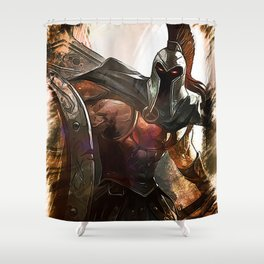 League of Legends PANTHEON Shower Curtain