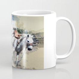 Bucking Bronco 1 Cowboy 0 Coffee Mug