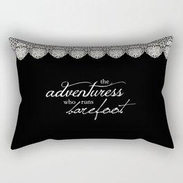 Wild and Brave Rectangular Pillow