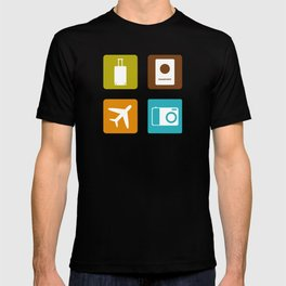 Travel Icons T-shirt