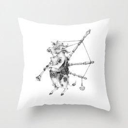 scottish musician Throw Pillow