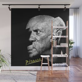 Pablo Picasso Cubism Collage Wall Mural