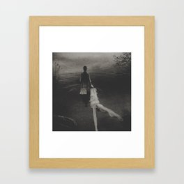 My father has left me in the woods  Framed Art Print