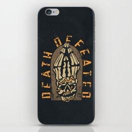 Death Defeated iPhone Skin