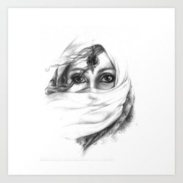 A Desert Wind Art Print
