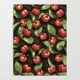 Fruit Acerola Pattern Poster