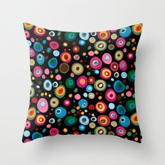 brilliant pebbles Throw Pillow