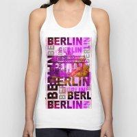 berlin Tank Tops featuring Berlin  by LebensART