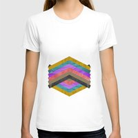 hexagon T-shirts featuring Hexagon by Kaamil Ajmeri
