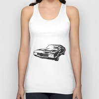 muscle Tank Tops featuring Muscle Car by mothermary