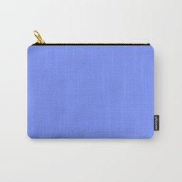 Solid Light Sapphire Blue Cornflower Colour Palette Matte Carry-All Pouch