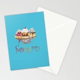 Ice Cream Case Stationery Cards