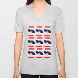 555  Thai flag Unisex V-Neck